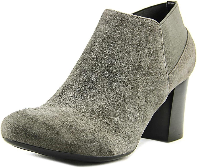 VANELi Womens jonele Leather Pointed Toe Ankle Chelsea Boots