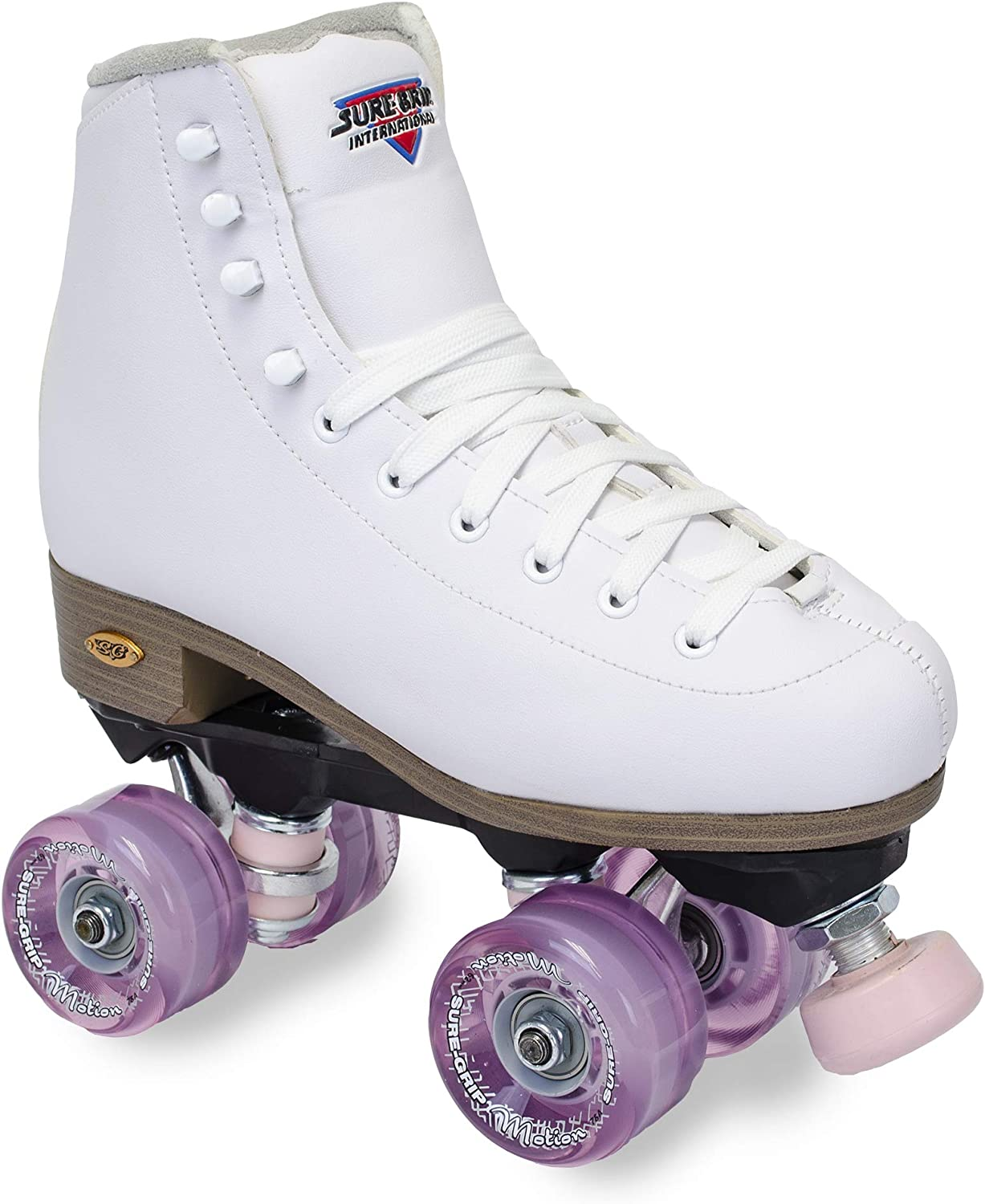 Sure-Grip White Fame Ranking TOP11 Roller Our shop OFFers the best service Motion Skate Pink Outdoor
