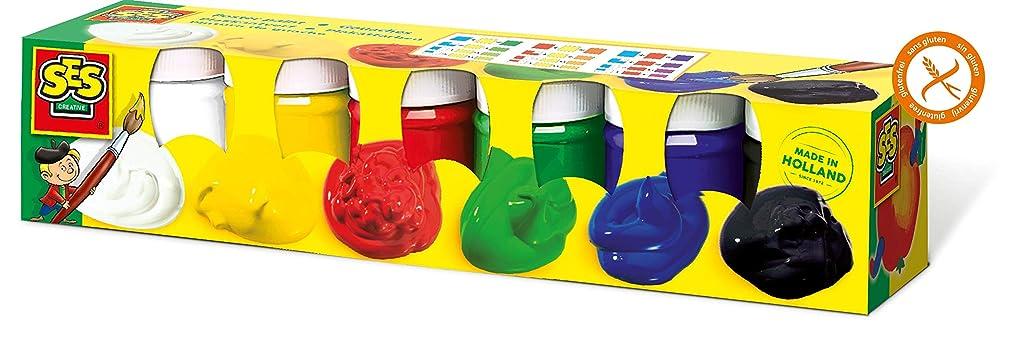 SES Creative Children's Poster Paint, Set of 6 Colors
