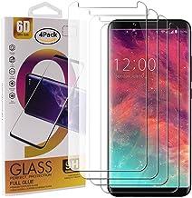 Guran 4 Paquete Cristal Templado Protector de Pantalla para UMIDIGI S2 / UMIDIGI S2 Pro / S2 Lite Smartphone 9H Dureza Anti-Ara?azos Alta Definicion Transparente Película