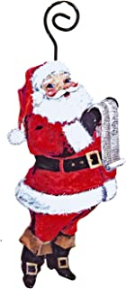 The Round Top Collection Gallery Jolly Old Santa Ornament - Set of 3- Metal