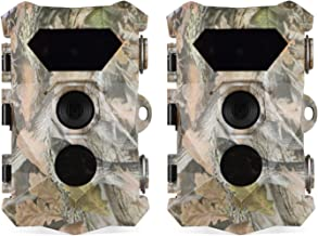 2 Pack Trail Game Camera 16MP 1080P with Night Vision...