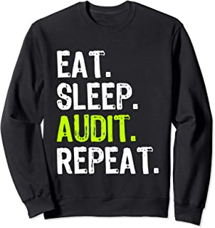 Eat Sleep Audit Repeat Auditor Auditing 監査 監査人 トレーナー