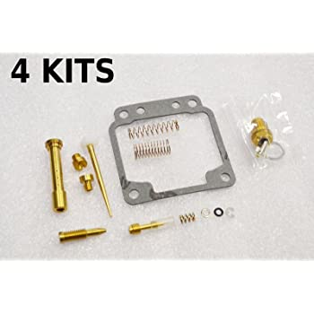 ALPHA MOTO Alphamoto 4 X Carburetor Carb Repair Rebuild Kit 80-83 Honda CB900C Custom CB1000C
