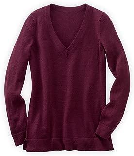Fair Trade Alpaca Boyfriend V-neck Sweater