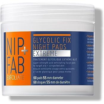 Nip+Fab Glycolic Fix Extreme Night Pads, 60 pads