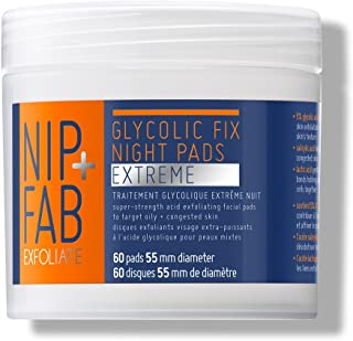 Nip + Fab Glycolic Fix Night Pads Extreme, 60 Pads, 2.7 Ounce