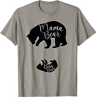 Winter 2019 Pregnancy Announcement Shirt Mama Bear Baby Bear