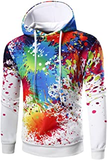 MaxTide Mens Long Sleeve Pullover Warm Fleece Cotton Sports Hoodie Hooded Sweatshirt