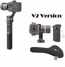 Feiyu G5 V2 Updated 3 Axis Splash Proof Handheld Gimbal for GoPro Hero 6 /5 /4 /3 /Session,Yi Cam 4K,Action Cam