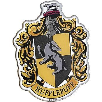 White C60479 Harry Potter Hufflepuff House Crest Symbol 6.5x8 Check6