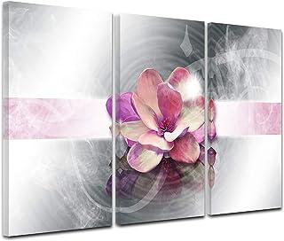 Amazon Fr Tableau Triptyque Zen