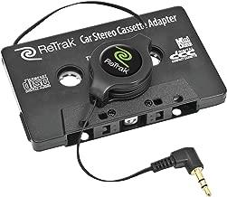 ReTrak Retractable Car Stereo Adapter (ETCASSETTEB)