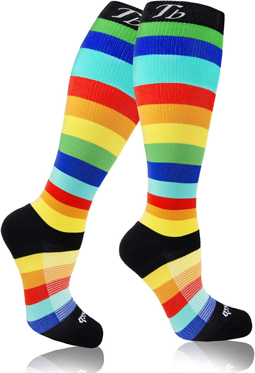 Nurse plus size compression Daily bargain sale socks Bombing free shipping cir knee breathable high women