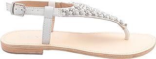 Keys - White sandalo positano w K-1706