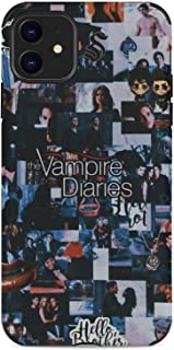 Vampire Diaries iPhone 11 Phone case Ultra-Thin Scratch-Resistant Anti-Collision Soft TPU Protection Soft Microfiber Lining