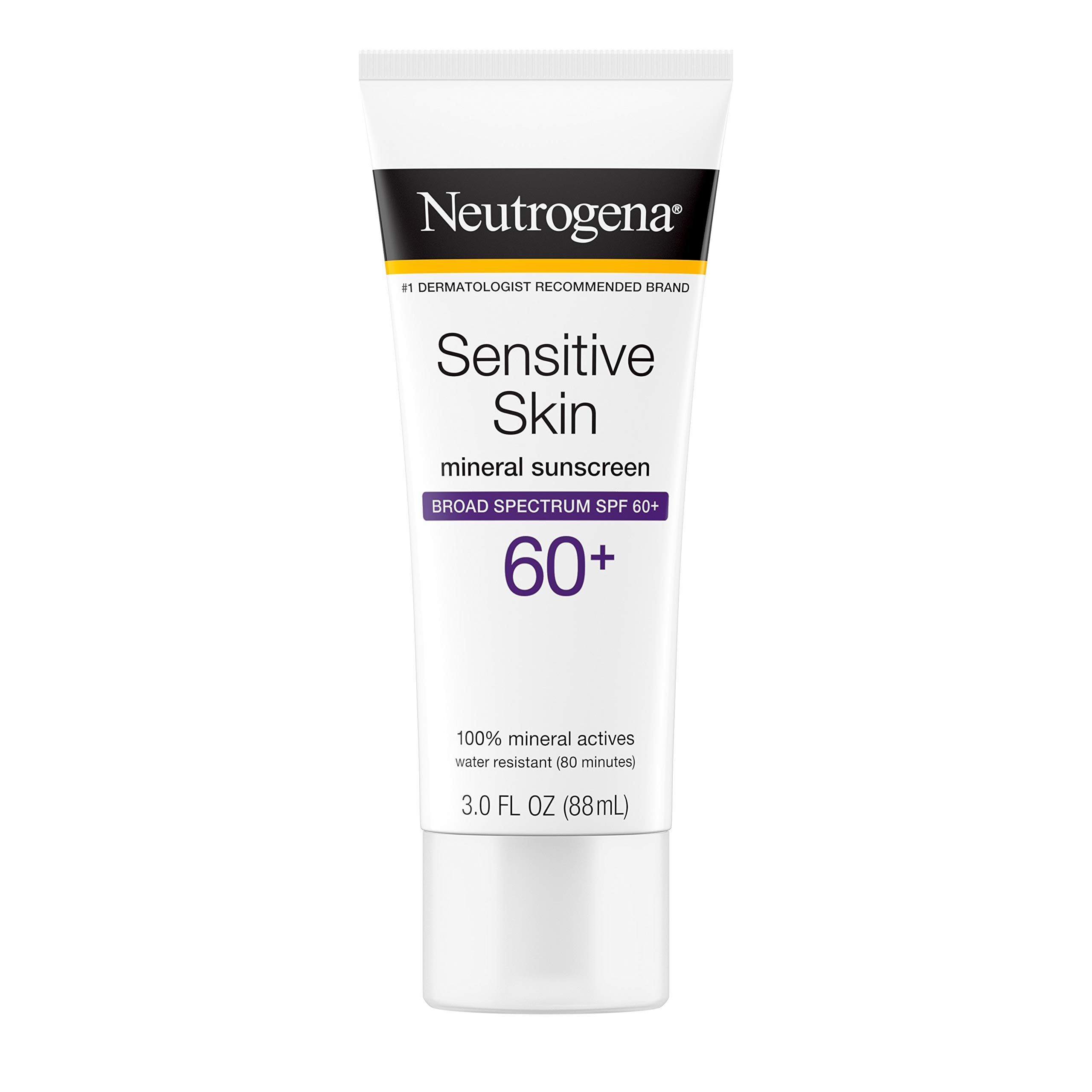 Neutrogena Sensitive Sunscreen Water Resistant Hypoallergenic