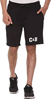 Colors & Blends Men's Cotton Solid Shorts