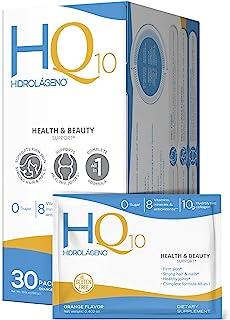 HIDROLÁGENO Q10, Hydrolysed Collagen + Vitamins + ZINC + Antioxidants, 30 sachets