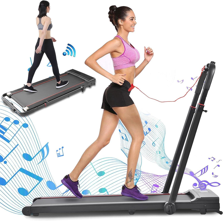 2 in 1 Folding Electric Popular Desk Treadmill Porta Cheap SALE Start 2HP Under