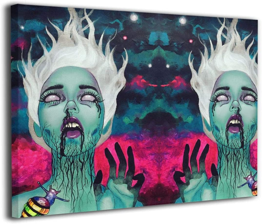 Galaxy Goth Gotik Gothic Ranking TOP5 Canvas Credence Wall Bedroom Room Living Art for