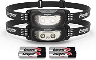 Energizer LED Headlamp, Bright and Durable, Lightweight, Built for Camping, Hiking, Outdoors, Emergency Light, Best Head L...