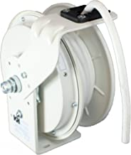 product image for KH Industries RTB Series ReelTuff Power Cord Reel, 12/3 SJOW White Cable, 20 Amp, 25' Length, White Powder Coat Finish