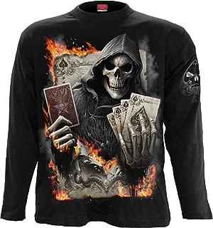 Mens - ACE Reaper - Longsleeve T-Shirt Black