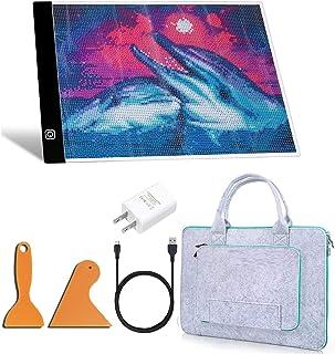A4 LED Light Pad for Diamond Painting, Super Bright USB Powered Light Board Kit, Ultra-Thin Portable, Eyesight-Protected