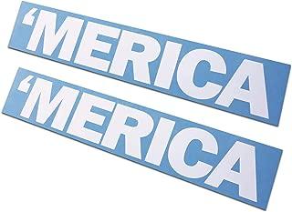 2 Pack - Merica Decals/Stickers 2x10