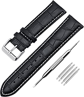 Swiss Army Waterproof Leather Wrist Replacement Watch Bands Strap Men Women Ladies fit All Watch