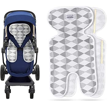 Baby Kids Stroller Pram Cool Mat Pushchair Straw Mat Seat Pad Liner