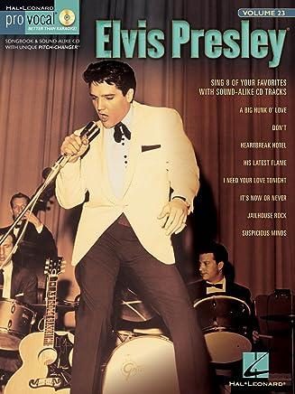 Hal Leonard Elvis presley-pro vocal Men s Edition volume # 23(Book and CD)