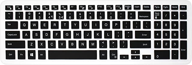 Silicone Dell Keyboard Cover Skin for 15.6