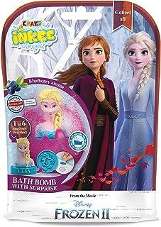 Craze Inkee 12734 Kula Kąpielowa z Niespodzianką Figurką z Frozen 2, Wilokolorowa