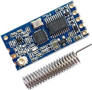 Sunhokey HC-12 433Mhz SI4463 Wireless Serial Port Module 1000m Replace Bluetooth with Antenna (HC-12-1pcs)