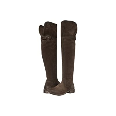 Frye Shirley Over-The-Knee Riding (Fatigue Oiled Suede) Women