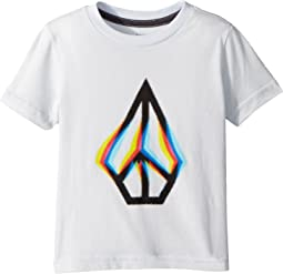 Peace Blur Short Sleeve Tee (Toddler/Little Kids)