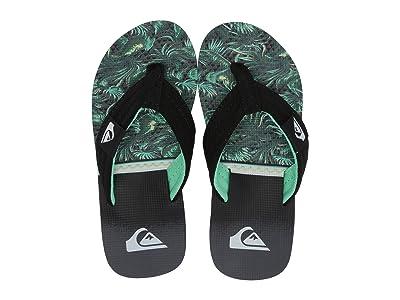 Quiksilver Kids Molokai Layback (Toddler/Little Kid/Big Kid) (Black/Green/White 2) Boys Shoes