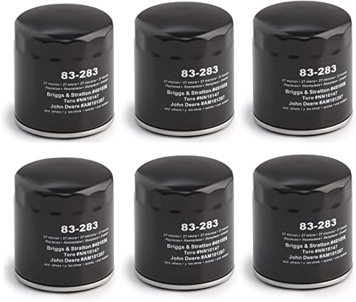 new arrival 83-283 Pack of 6 Oil Filters lowest for online sale Twin-cylinder and Magnum engines online