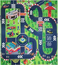 Road Playmat Toy,Kids Carpet Playmat,Great for Playing with Cars and Toys,Children Educational Road Traffic Play Mat- Lear...
