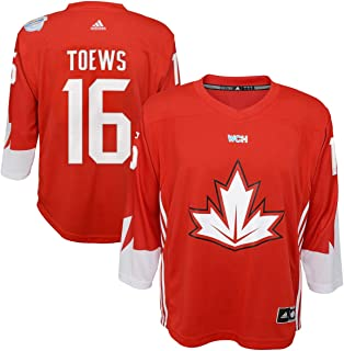 Jonathan Toews Canada World Cup Of Hockey Red Youth Adidas Replica Jersey