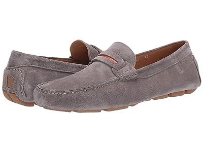 Canali Suede Driver (Grey) Men