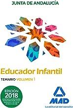 Educadores Infantiles. Personal Laboral de la Junta de Andalucía. Temario  Volumen 1