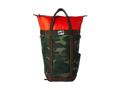 Kelty Hyphen Pack Tote (Green Camo) Tote Handbags