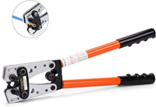 HORUSDY 6-50mm² Cable Lug Crimping Tools, Wire Crimper Tools, Cable Crimping Plier