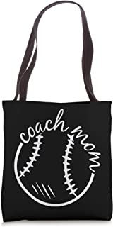 Coach Mom Mothers-Day Baseball Sport Lover Mama Mommy Momma Tote Bag
