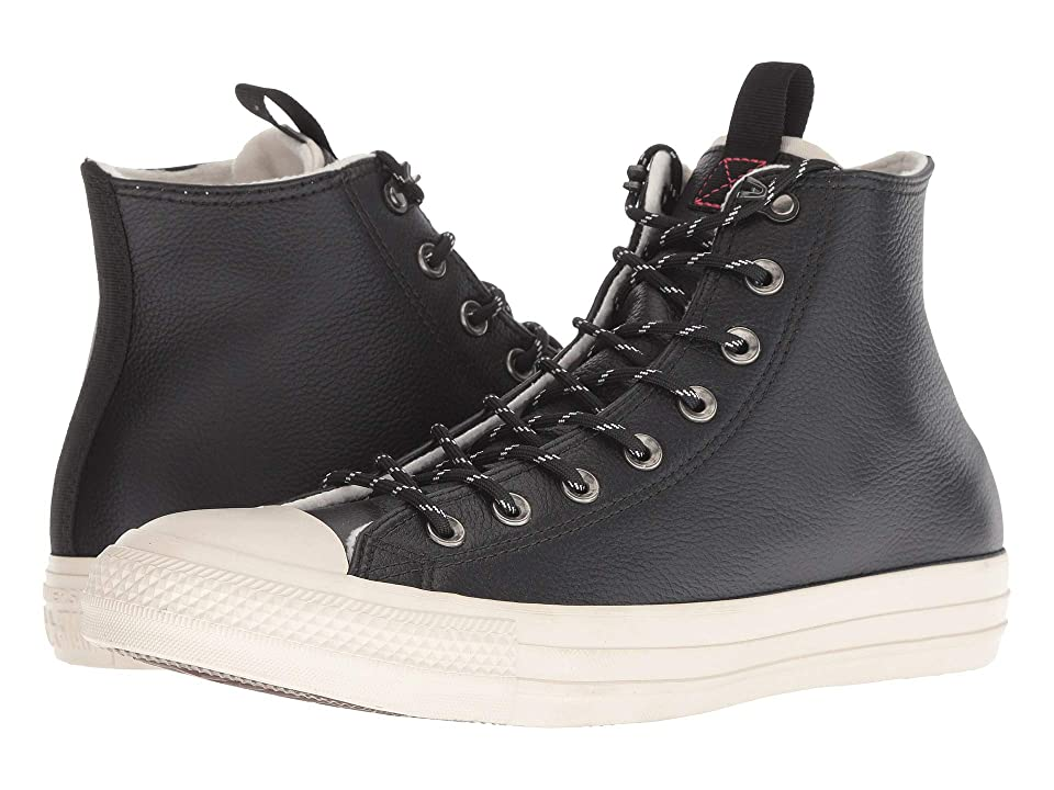484ae041e8fa Converse Chuck Taylor All Star Leather Hi (Black Driftwood Driftwood) Slip  on