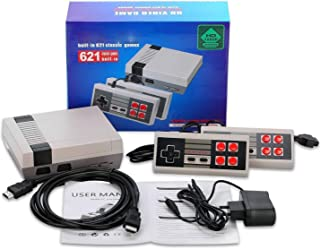 Hometown Classic Mini Retro Game Console HDMI - Retro Gaming Console built-in 621 Classic Video Game for Kids - 2 NES Classic Controllers and HDMI Cable Best Children Gift Happy Childhood Memories