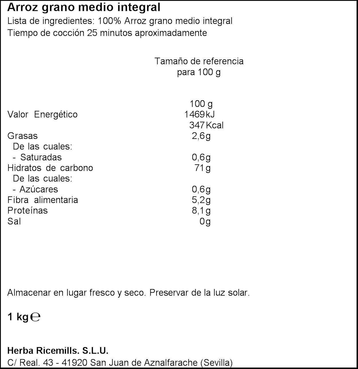 Arroz SOS Integral Con Quinoa + 4 Cereales 500G - [Pack De 10 ...
